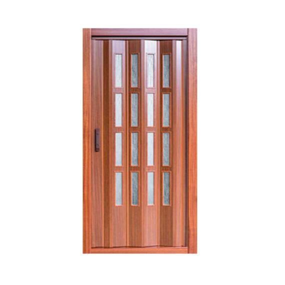 puerta plegable pvc cristal